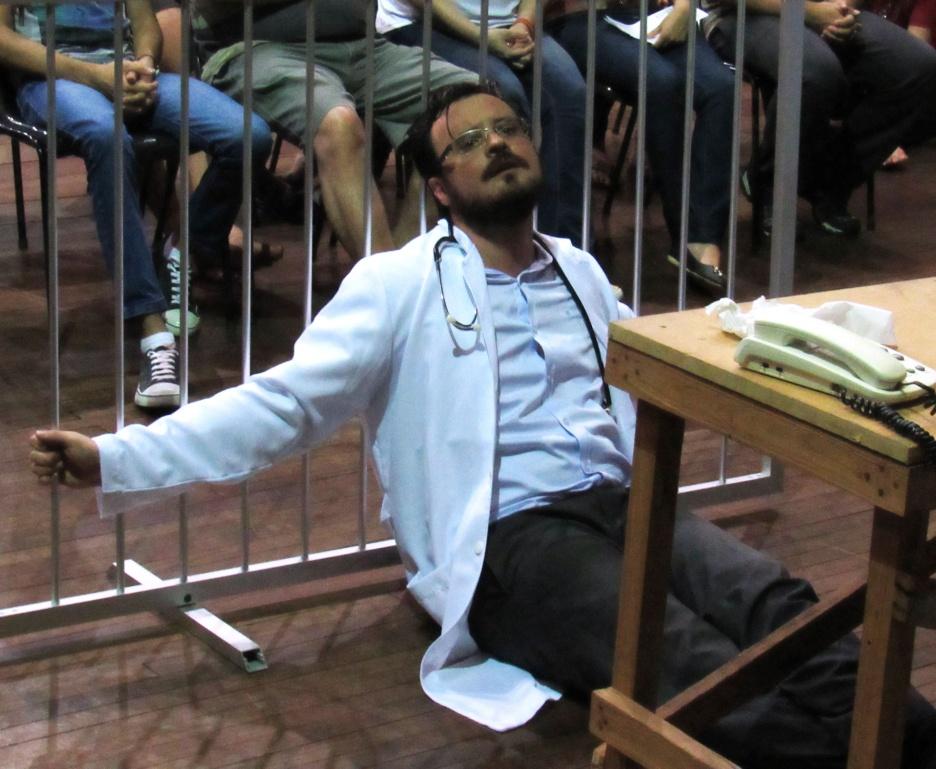 O Alienista, Cia Complexo de Actoris. Fotografia: Gustavo Gomes.